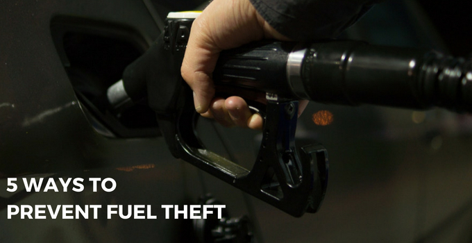 Prevent Fuel Theft